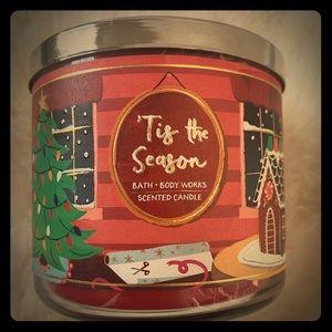 ''Tis the season candle